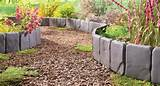 Photo Credit: Amazon.com - Interlocking stone border edging
