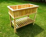 ... PLANS TO BUILD THIS RAISED GARDEN BED PLANTER. PLANS INCLUDE PHOTOS