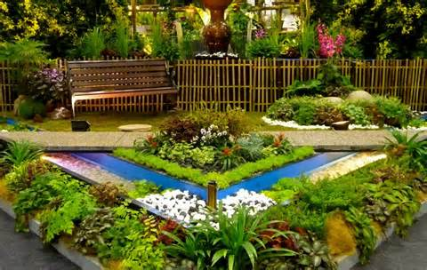 Outdoor Designs: Flower Bed Garden Ideas , pictures of flower beds ...