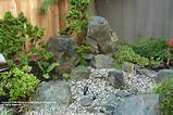 natural rock landscape top easy design for diy backyard garden