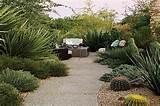 stylish optical illusion desert landscaping ideas