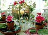 spring table settings beautiful table setting ideas house spring table