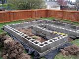 raised beds cinder block garden backyard bliss pinterest