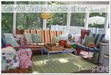 ... cushions to fit vintage outdoor furniture, you can find my tips here