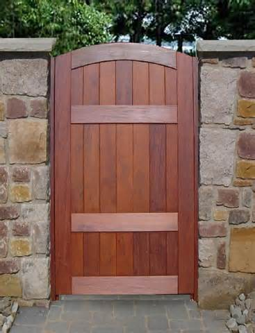 Our wooden / timber garden and driveway gates and garage doors are ...