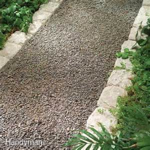 planning a backyard path gravel paths the family handyman