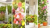 Trellis, flowerpot stand, birdbath planter, flowerpot trellis