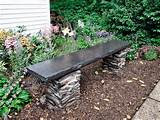 how to build an elegant stone garden bench gardening clan