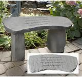 Home > Garden Memorials > Small Memorial Garden Bench: