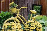 Creative Garden Art Planters With Wheels | empressofdirt.net