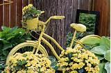creative garden art planters with wheels empressofdirt net