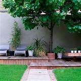 crear un espacio en el jardin de la casa en plena ciudad puede ser un