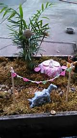 Homemade fairy garden! | Garden Ideas | Pinterest