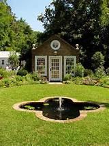 modern garden house designs and backyard landscaping ideas