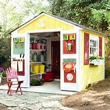 shed organization | Outdoors | Pinterest