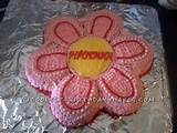 and baskets cool homemade flower cake using the wilton cake pan