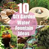 10 diy garden water fountain ideas diy cozy home world home