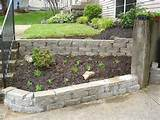 Landscape design for app: Landscaping retaining wall ideas