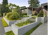 Vorgartengestaltung Bilder und Beispiele – Blumenbeeten geben dem ...