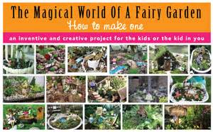 The Fun and Fantasy Of A Fairy Garden