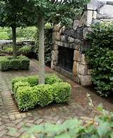... Ideas, Gardens Patios, Outdoor Fireplaces, Gardens Design, Landscapes