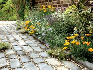 paved pathway through garden photo by dk garden design 2009 dorling ...