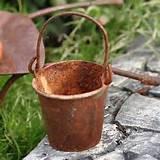 Fairy Garden Garden Bucket, Rustic Garden Tools,http://www.amazon ...