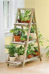 Frame plant stand from gardeners.com