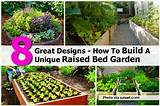 garden with a raised bed is one of the best methods for growing your ...