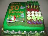 Vegetable Birthday Cake Cake 30a1 Vegetable Garden
