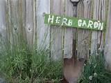 Fun Herb Garden Sign | YARD COUPLE Ideas! | Pinterest