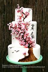 you have to see japanese cherry blossom cake by nadyatk