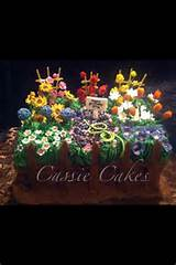 flower garden cake cakes pinterest