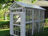 Neat greenhouse idea | Gardening Ideas | Pinterest