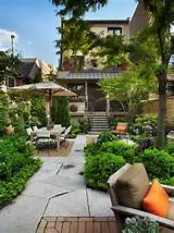 pretty small garden patio ideas house and gardens pinterest
