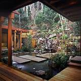 asian garden design this garden designed by david hertz takes ...