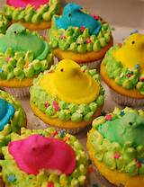 peeps cupcakes flickr photo sharing