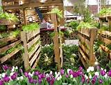 Pallet Garden Furniture & Pallet Garden Fence Planter