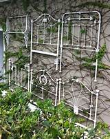 love this idea for a garden wall clever way to reuse old metal