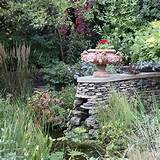 garden with dry stone wall feature country garden design ideas