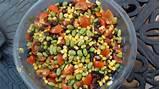 healthy garden salad food ideas pinterest
