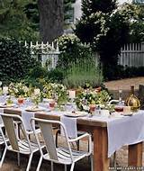 Martha Stewart garden party | Table Decor & Party Ideas | Pinterest