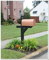 Top Ten DIY Mailbox Ideas and Link Party