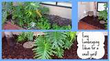 Easy Landscaping Ideas for a Small Yard with Mulch - YouTube