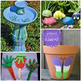 kids garden crafts