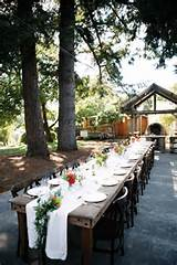garden party wedding table | Rustic Wedding Ideas | Pinterest