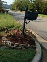 Mailbox- flower bed: Boxes Flowers, Flowers Gardens Outdoor, Flowers ...