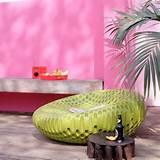 hot pink garden wall garden ideas image housetohome