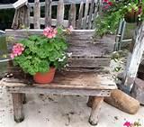 Flower bench