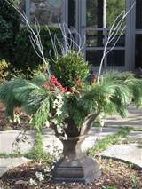 lovely winter container garden idea christmas decorating ideas pi